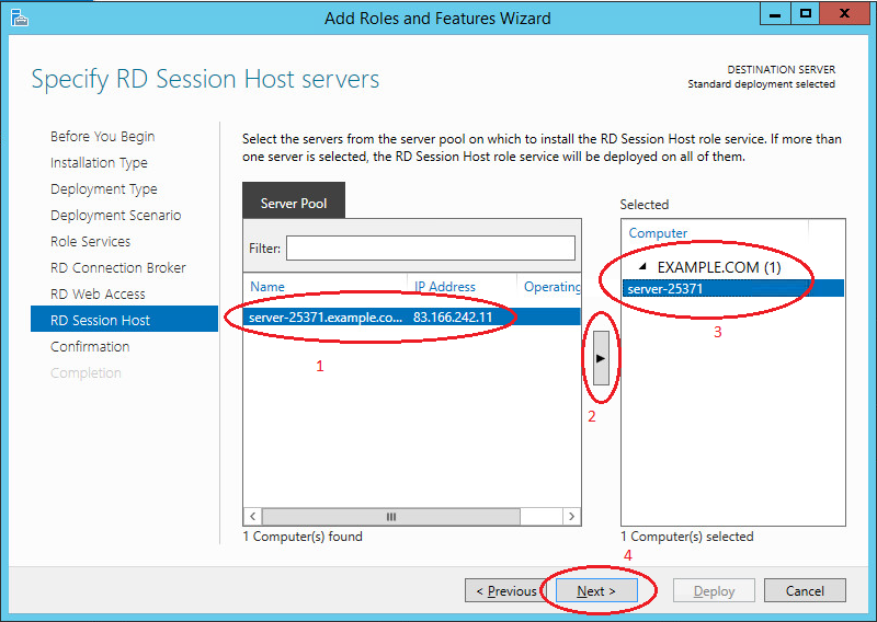 Shadow Copy Mode in Active Directory--RD Session Host