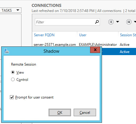 Shadow Copy Mode in Active Directory--set shadow-3 step